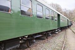 Old passenger wagons Stock Photos