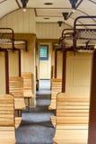 Old passenger wagons Royalty Free Stock Photos