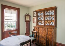 Old House Interior at Upper Canada Village royalty free stock image