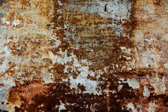 Old patchy red wall texture Royalty Free Stock Photo