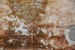 Old patchy red wall texture Royalty Free Stock Images