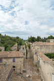 Old Path at Medieval Castle Town of Fort Saint-Andre Royalty Free Stock Photo