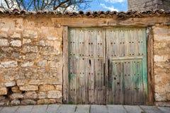 Old Patio front door Stock Photo