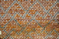 Old Patterned Brick Wall Royalty Free Stock Image