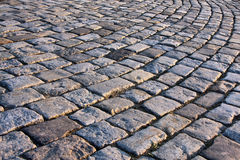 Old pavement. The fragment of an old pavement Royalty Free Stock Photos