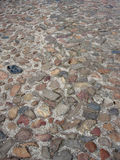 Old pavement 2. An old cobble-stone pavement Royalty Free Stock Photography