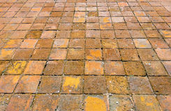 Old Pavement of Casco Viejo. Panama Royalty Free Stock Photos