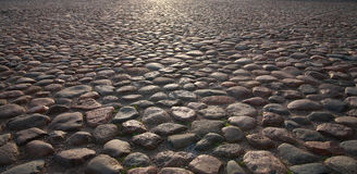 Old Pavement royalty free stock image