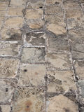 The old pavement surface Royalty Free Stock Image