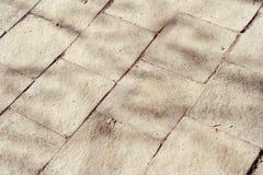 Old paving stone texture Royalty Free Stock Photos