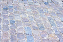 Old paving stone texture. Old color paving stone texture. Structured background Royalty Free Stock Image