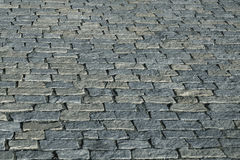 Old paving stone texture. Old gray paving stone texture. Structured background Stock Photos