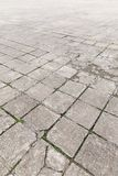 Old paving stones outdoors Royalty Free Stock Photos