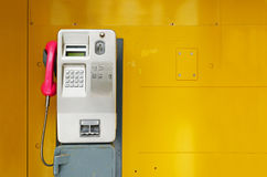 Old pay phone Royalty Free Stock Images