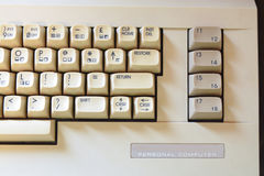 Old PC keyboard Stock Photos