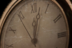 Old pcket watch close-up Stock Image