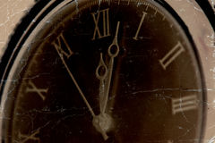 Old pcket watch close-up Royalty Free Stock Photography