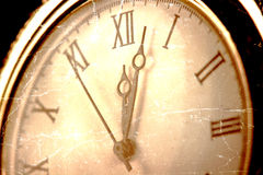 Old pcket watch close-up Stock Photos