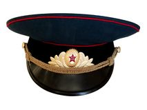 Old peaked cap Stock Images