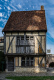 Old peasant house of Picardy in France Royalty Free Stock Photo