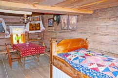 In old peasants` house in Suzdal Stock Image