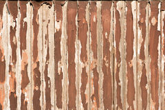 Old peeled wood background Stock Images