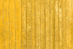Old peeled wooden planks with cracked color paint, background old panels. Royalty Free Stock Photos