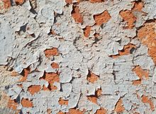 Old peeling paint, abstract background, free space for text royalty free stock images