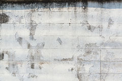 Old peeling paint brick wall grunge and dirty Stock Photo