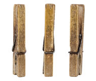 Old pegs Stock Photos