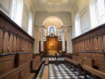 Old Pembroke College Chapel Cambridge Royalty Free Stock Image