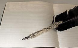 Old pen Royalty Free Stock Photo