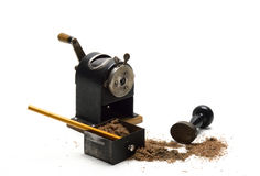 Old Pencil Sharpener Stock Image