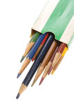 Old Pencils Royalty Free Stock Photography