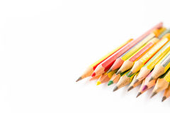 Old pencils Royalty Free Stock Photos