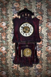 Old pendulum clock Stock Images