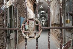 Old Penitentiary in Philadelphia,Pennsylvania stock photo