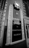 Old Pennsylvania Railroad (PRR) Station in Philadelphia Stock Image