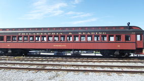 Old Pennsylvania trains Royalty Free Stock Images