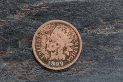 Old Penny Stock Photo