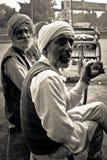 Old People of Amritsar, Punjab, India Royalty Free Stock Images