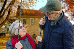 Old People, Couple, Together Stock Photos