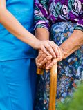 Old People's Diseases. Royalty Free Stock Image