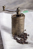 Old Pepper grinder mill Royalty Free Stock Photography