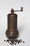 Old Pepper grinder mill Stock Photo