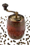 Old pepper mill Stock Photography