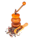 Old pepper mill Royalty Free Stock Photos