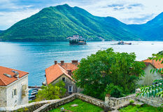 The old Perast Royalty Free Stock Photography