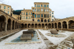 Old Persian baths in Baku cty Stock Photo