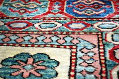 Old Persian carpet. Stock Photography